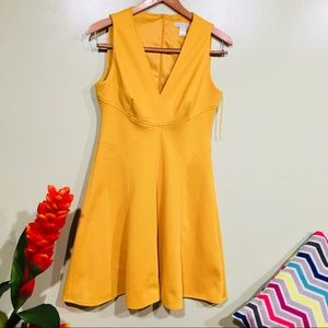 Beautiful London times Yellow Dress size 6
